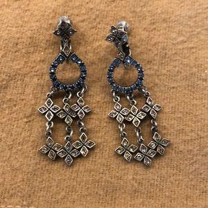 Clip chandelier earrings